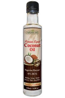 Кокосово олио, 93% MCT - 250 мл