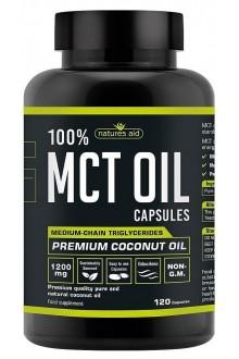 100% MCT Oil (Фракционирано кокосово масло), 500 мл