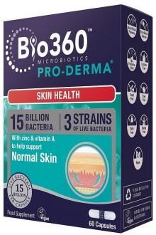 Pro-Derma® за здрава кожа, 60 капсули
