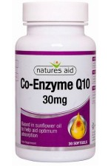 Коензим Q10, 30mg - 30 капсули